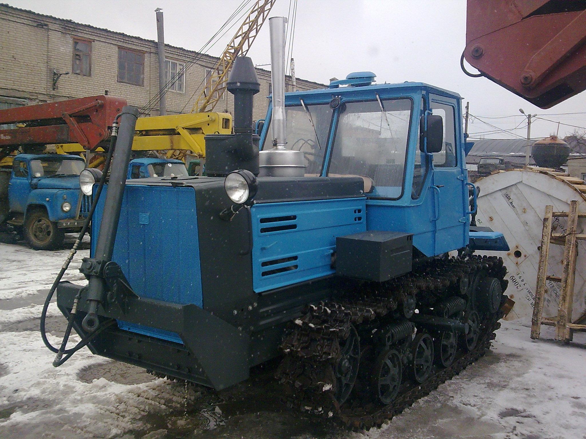 Ремонт трактора Т 150 гусеничный